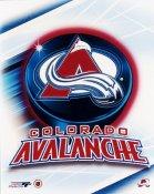 Colorado Avalanche Team Puck Logo 8x10 Photo