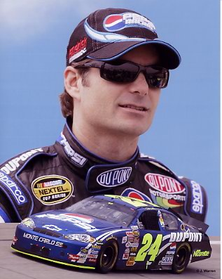 Jeff Gordon 2006 Composite 8x10 Photo