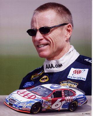 Mark Martin 2006 Composite 8X10 Photo