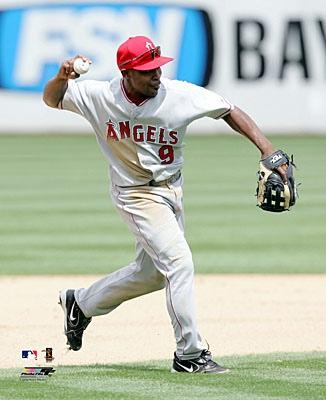 Chone Figgins Anaheim Angels 8X10 Photo