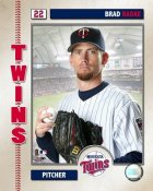 Brad Radke 2006 Studio Minnesota Twins 8X10 Photo