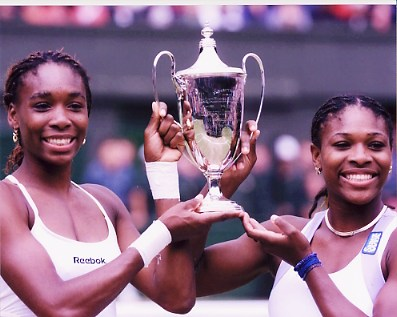 Serena Williams & Venus Williams Sisters 8X10 Photo