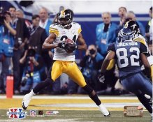 Ike Taylor Super Bowl 40 XL Steelers 8x10 Photo LIMITED STOCK -