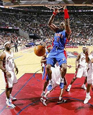Ben Wallace  Detriot Pistons 8X10 Photo LIMITED STOCK