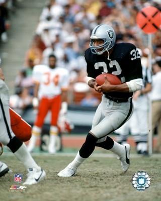 Marcus Allen Oakland Raiders SATIN 8X10 Photo