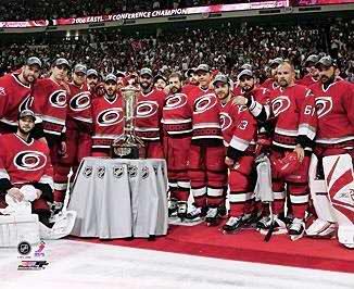 Carolina 2006 Hurricanes Team Prince Wales Trophy 8x10 Photo