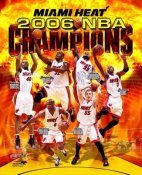 Miami 2006 Heat Champions Composite 8X10 Photo LIMITED STOCK