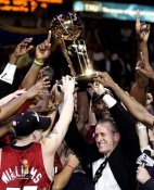 Pat Riley 2006 Champs Heat Team 8X10 Photo LIMITED STOCK