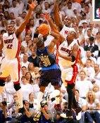 James Posey Shaq & Dwyane Wade LIMITED STOCK Game 5 2006 Champs 8X10 Photo