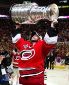 Cam Ward with Stanley Cup 2006 LIMITED STOCK Hurricanes 8x10 Photo