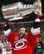 Eric Cole with Stanley Cup LIMTED STOCK 2006 Hurricanes 8x10 Photo