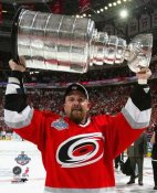 Cory Stillman with Stanley Cup 2006 Hurricanes 8x10 Photo