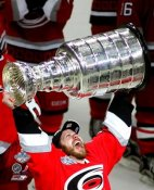 Ray Whitney with Stanley Cup 2006 Hurricanes 8x10 Photo