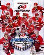 Carolina 2006 Stanley Cup Team Composite 8x10 Photo