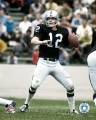 Ken Stabler Oakland Raiders SATIN 8X10 Photo
