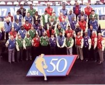 NBA 50 Greatest Players 8x10 Photo LIMITED STOCK