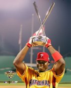 Ryan Howard LIMITED STOCK 2006 Home Run Derby Champ 8X10 Photo