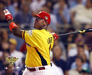 Ryan Howard LIMITED STOCK 2006 Home Run Derby Action 8X10 Photo