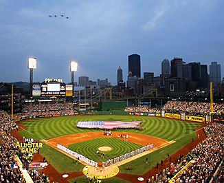 N2 PNC Park 2006 All-Star Game Pittsburgh 8X10 Photo