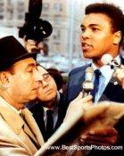 Muhammad Ali & Howard Cosell Boxing 8x10 Photo