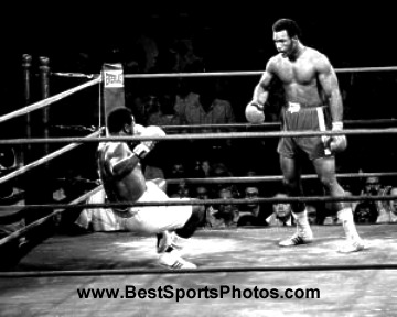 George Foreman vs. Joe Frazier LIMITED STOCK 8x10 Photo