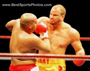 Tommy Morrison Boxing 8x10 Photo