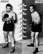 Joe Lewis vs. Billy Conn BW 8x10 Photo