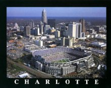 A1 Ericsson Stadium Aerial Charlotte Carolina Panthers 8x10 Photo