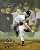 Roger Clemens 20-1 LIMITED STOCK Season Yankees 8X10 Photo