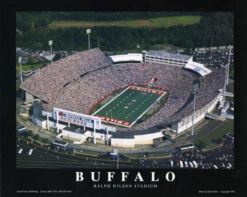 A1 Ralph Wilson Stadium Buffalo Bills Aerial 8x10 Photo