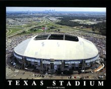 A1 Texas Stadium Aerial Dallas Cowboys 8x10 Photo