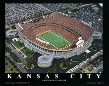 A1 Arrowhead Stadium Aerial Kansas City Chiefs 8x10 Photo