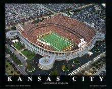 A1 Arrowhead Stadium Aerial Kansas City Chiefs 8x10 Photo