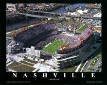A1 Nashville Stadium Aerial Tennessee Titans 8x10 Photo