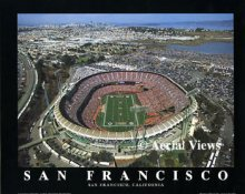 A1 Monster Park Aerial San Francisco 49ers 8x10 Photo