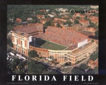 A1 Florida Field Aerial Florida Gators 8x10 Photo