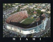 A1 Orange Bowl Aerial Miami Orange Bowl 8x10 Photo