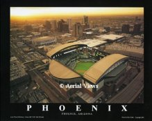 A1 Bank One Ballpark Aerial AZ Diamondbacks 8X10 Photo