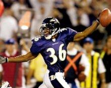 BJ Sams Baltimore Ravens 8X10 Photo