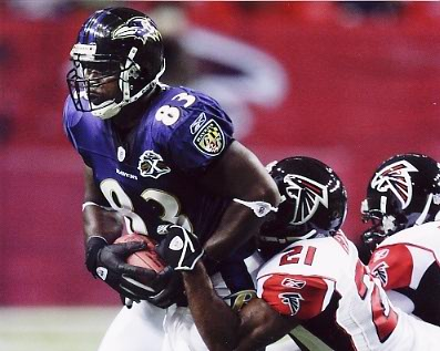 Daniel Wilcox Baltimore Ravens 8X10 Photo