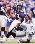 Musa Smith Baltimore Ravens 8X10 Photo