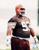 Jerry Ball Cleveland Browns 8X10 Photo