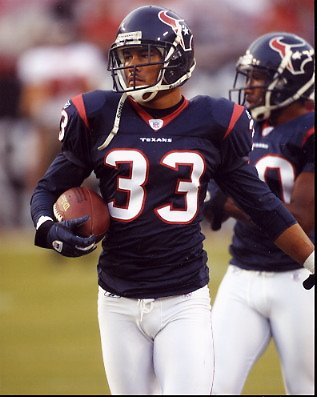 Jason Bell Houston Texans 8X10 Photo