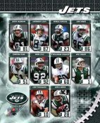 NY 2006 Jets Team Composite 8X10 Photo