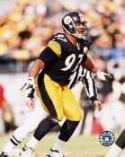 Kendrell Bell LIMITED STOCK Pittsburgh Steelers 8x10 Photo