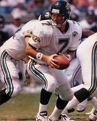 Steve Beuerlein Jacksonville Jaguars 8X10 Photo