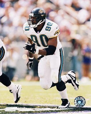 Tony Brackens Jacksonville Jaguars 8X10 Photo