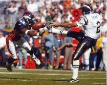 Sam Brandon Broncos Darren Bennett Chargers 8X10 Photo