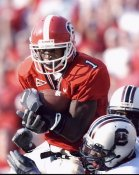 Reggie Brown Georgia Bulldogs 8X10 Photo