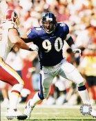 Rob Burnett Baltimore Ravens 8X10 Photo